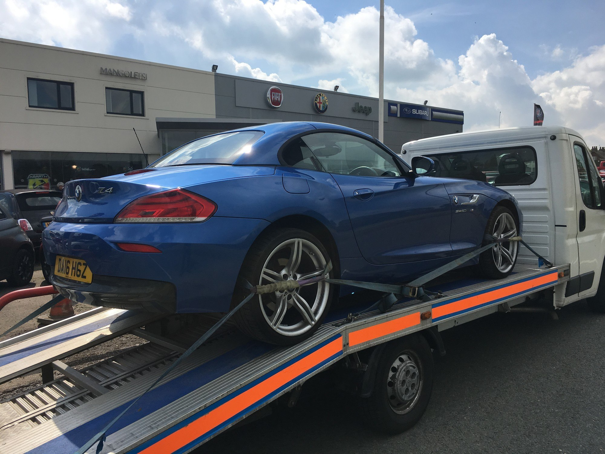 2016 BMW Z4 Delivery to Manchester